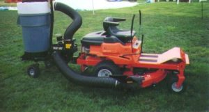 Photo of the vacuum hose on a Trac Vac