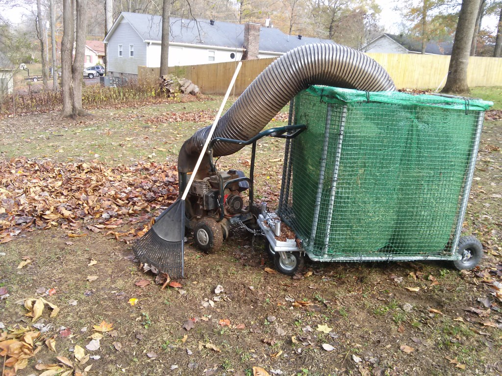 Leaf Vac Hose Picture from Customer